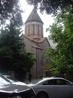 Tbilisi Jvris mama church common view.jpg
