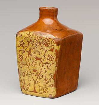 Redware - Image: Tea Canister MET DP207182 (cropped)