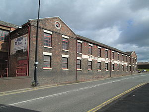 Longport, Staffordshire - Image: Teapot Works, Longport