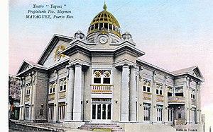 Teatro Yagüez - Image: Teatro Yaguez 1920