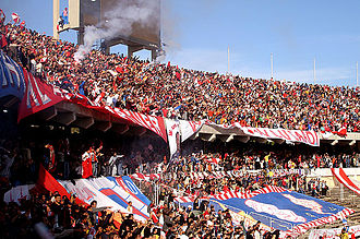 2002 Supercoppa Italiana - Image: Tehaa Fans Super Cup Ben Taher