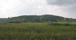 Tell es-Safi Place in Hebron, Mandatory Palestine