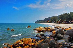 Teluk Cempedak - The Teluk Cempedak Beach in Kuantan