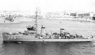 USS <i>Tercel</i> (AM-386) US Navy minesweeping ship; now sunk