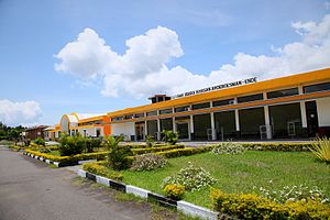 H. Hasan Aroeboesman Airport - Image: Terminal gedung Ende