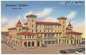 P. Thornton Marye - Image: Terminal Station, Atlanta, Ga. (8343903832)