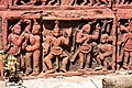 Terracotta Panel - Dol Mancha - Damodar Mandir Site - Rautara - Howrah 2013-09-22 3078.JPG