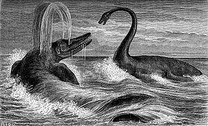 Louis Figuier - Illustration from La Terre avant le déluge