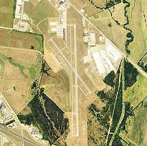 Terrell Municipal Airport - 2006 USGS photo