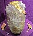 Tesoro di principe gepidico di apahida (1969), bicchiere e applique per vasi, 450-500 ca..JPG