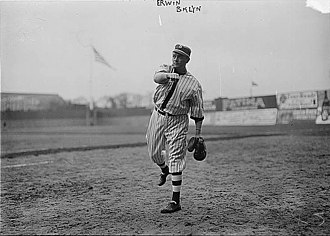 Tex Erwin - Erwin at Ebbetts Field, 1913