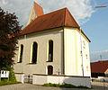 Thannhausen - Burg - Kirche v N.JPG