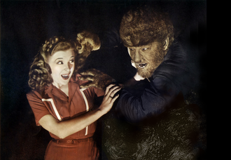 Lon Chaney Jr. - The Wolf Man, Chaney's signature role.