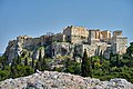 The Acropolis of Athens from the Hill of the Areopagus on April 21, 2020.jpg