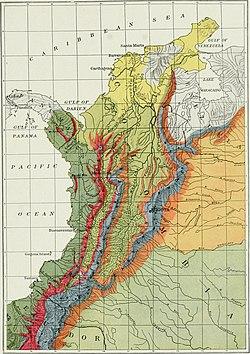 Geología De Colombia Wikipedia La Enciclopedia Libre