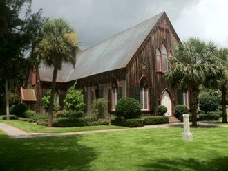Church of the Cross - Image: The Church of the Cross (Bluffton)