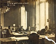 The Committee for Relief in Belgium in Lille, France