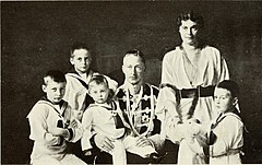The Crown Prince and Princess with their four sons.jpg