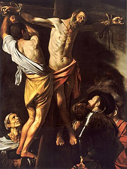 The Crucifixion of Saint Andrew-Caravaggio (1607).jpg