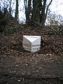 The Eccleshall (Hilcote) milepost - detail - geograph.org.uk - 1748111.jpg
