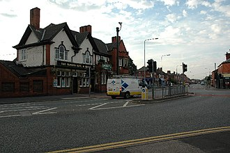 Padgate - Image: The Famous King and Queen pub geograph.org.uk 27007