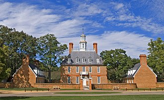 Virginia - Williamsburg was Virginia's capital from 1699 to 1780.