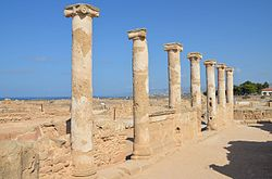The House of Theseus, Paphos Archaeological Park, Cyprus (22381172469).jpg