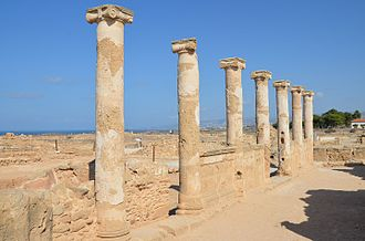 Paphos Archaeological Park - The House of Theseus in Paphos Archaeological Park