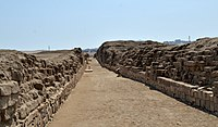 The Inka coastal road at Pachacamac DSC 0318.jpg