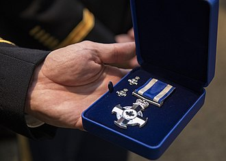 Meritorious Service Cross - The Cross awarded to Joseph F. Dunford