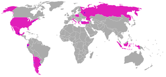 The Nanny - Countries with local versions