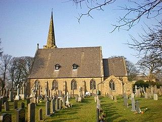 St Leonards Church, Balderstone Church in Lancashire, England
