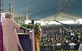 The Prime Minister, Shri Narendra Modi addressing the public meeting, at Dabhoi, Gujarat on September 17, 2017 (1).jpg
