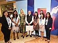 The Prime Minister, Shri Narendra Modi and the Advisor to the President of United States, Ms. Ivanka Trump visiting the Virtual Exhibition, at the Global Entrepreneurship Summit-2017, in Hyderabad on November 28, 2017 (2).jpg