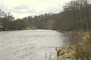 English: The River Avon - sometimes serene