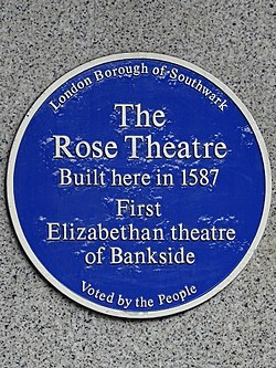 The rose theatre (southwark)