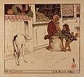 The Sacred Calf in the Bazaar at Agra - 1910 - Helen Hyde.jpg