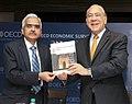 The Secretary, Department of Economic Affairs, Shri Shaktikanta Das and the Secretary-General, OECD Mr. Angel Gurría jointly launching the OECD Economic Survey of India, in New Delhi on February 28, 2017.jpg