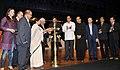 The Union Minister for Railways, Kumari Mamata Banerjee lighting the lamp to inaugurate the 41st International Film Festival (IFFI-2010) at Kala Academy, in Panaji, Goa on November 22, 2010.jpg