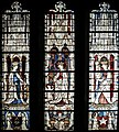 The Virgin Mary and Five Standing Saints Above Predella Panels, Germany, valley of the Middle Rhine, 1440-46 (lower level) (3225270950).jpg