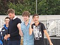 The Wanted on Sainsbury's Super Saturday 04.jpg