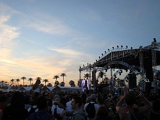 Coachella Valley Music and Arts Festival - The Outdoor Theatre in 2012 during a performance by The Weeknd