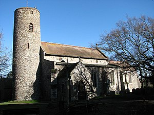 Bradwell, Norfolk - Image: The church of St Nicholas geograph.org.uk 674336