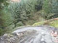 The final hairpin bend at the bottom of the slope - geograph.org.uk - 682006.jpg