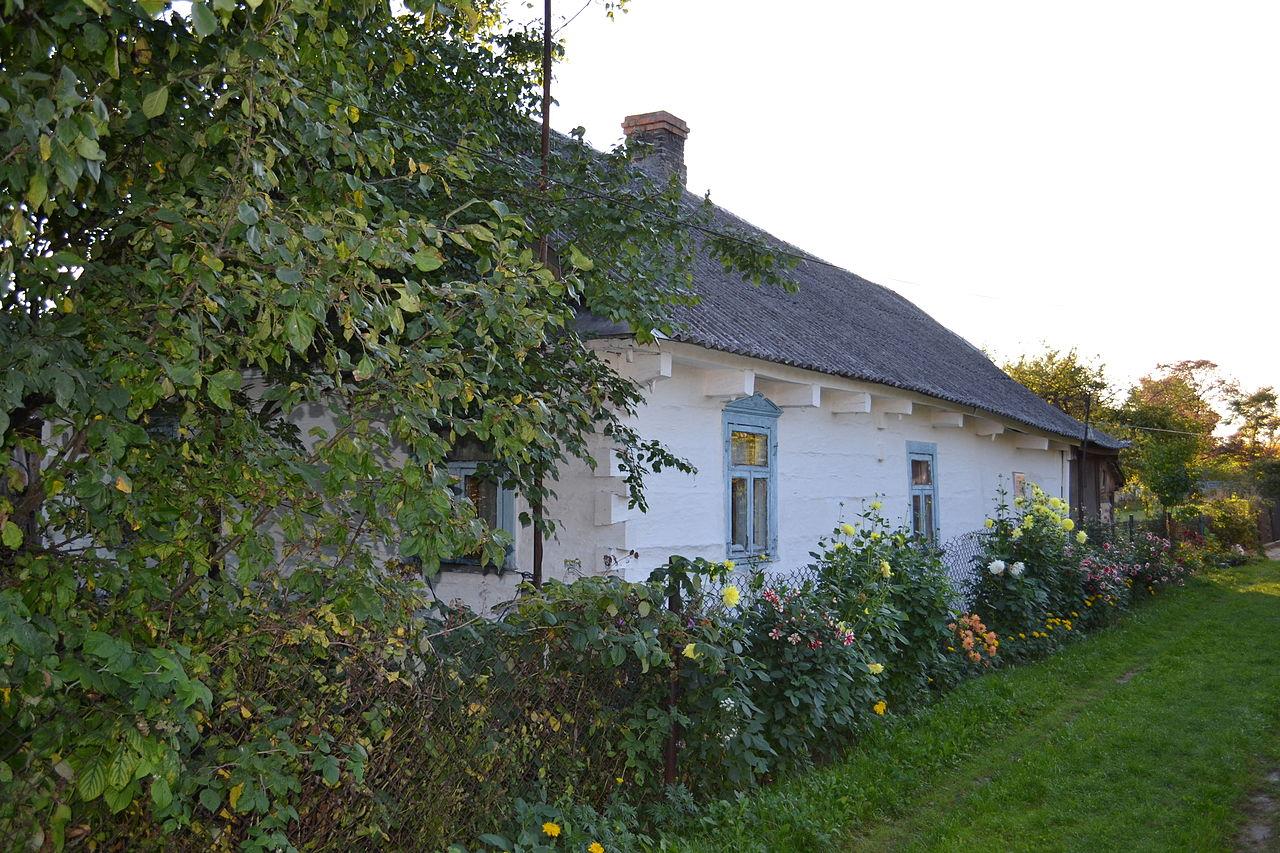 Дом, в котором в 1898 году родилась Наталия Михайловна Ужвий