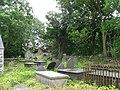 The overgrown churchyard of the old Llantrisant Church - geograph.org.uk - 1353534.jpg