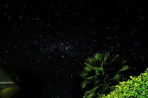 Night - The starry night of inland Tanzania.