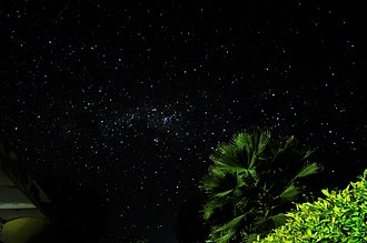Night - The starry night of inland Tanzania.