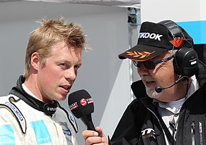 Interview (journalism) - An interview with Thed Björk, a Swedish racing driver.