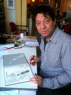 Theo van den Boogaard Dutch cartoonist